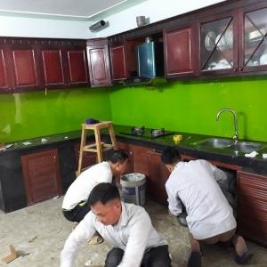 công trình nhà chú Minh -Thanh trì Hà Nội