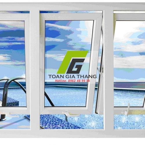 Cửa nhôm việt pháp hệ 4400 cửa sổ mở hất