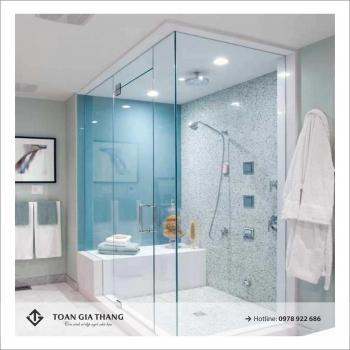 Báo giá vách tắm kính 2020
