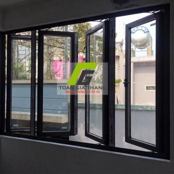Cửa nhôm Xingfa hệ 55 cửa sổ mở quay